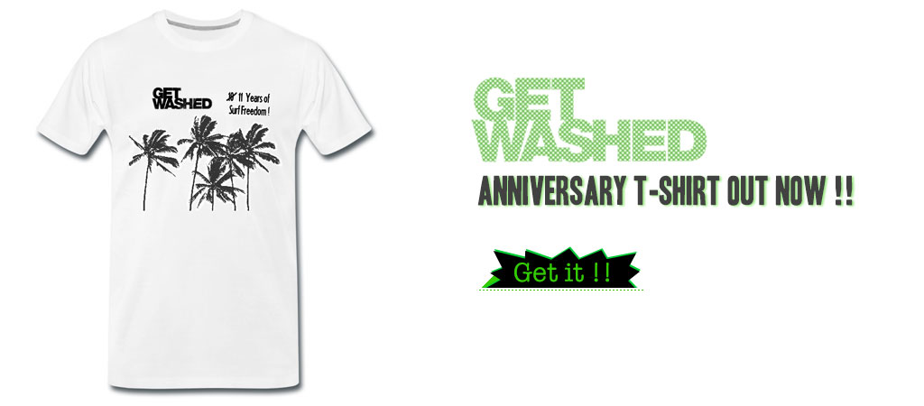 New GET WASHED T-Shirt in modern fit.